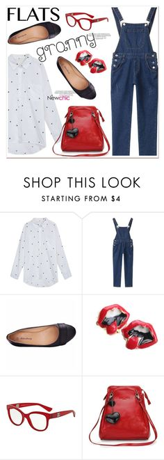 """granny flats 4"" by paculi ❤ liked on Polyvore featuring Dolce&Gabbana, women's clothing, women's fashion, women, female, woman, misses, juniors and grannyflats"