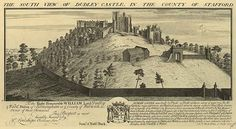 The South View of Dudley Castle in the County of Stafford c . Kenilworth Castle, West Midlands, Historical Photos, Birmingham, Lighthouse, Monument Valley, Mount Rushmore, Vintage World Maps, Lineage