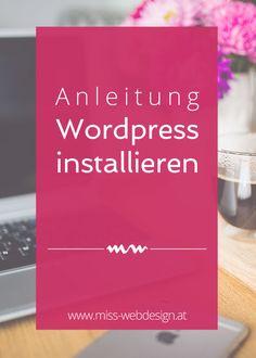 Wordpress installieren | www.miss-webdesign.at