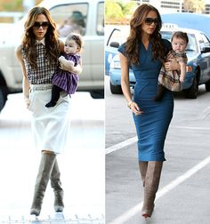 Winter Skirt Outfit, Skirt Outfits, Lawyer Outfit, Victoria Beckham Style, Fashion Outfits, Womens Fashion, Fashion Trends, Celebrity Style, Fashion Design