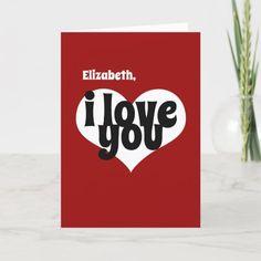 Wedding Card Valentine Postcard I/'ll Leave My Happy Home For You Wedding Postcard