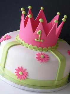 Princess Birthday Cake #3