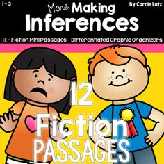 ** HALF PRICE FOR 24 HOURS ** After creating my first set of Fiction Mini Passages, I decided to create another set due to the demand. Since Inferring is such a difficult skill, you can never have too much practice. About This Product: