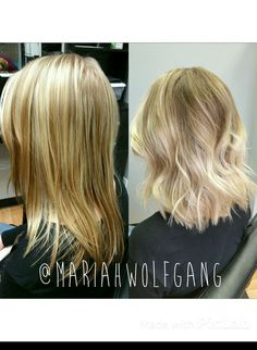 #balayage #balayagehighlights #haircolor #blonde #summer #keune #handpainting