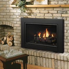 Kingsman Direct Vent Fireplace Insert with Blower - IDV43 - Millivolt Controls This Kingsman IDV43 Direct Vent Fireplace Insert with Blower is the supplemental fireplace your home needs. This fireplace insert's adaptability is where it shines. This unit can adapt to recessed or non-recessed installations. With millivolt controls, it pairs with