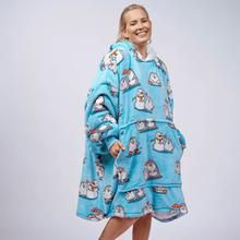 Cute Lazy Outfits, Girl Outfits, Wearable Blanket, Hooded Blanket, Exercise For Kids, Stay Warm, My Wardrobe, One Size Fits All, Penguins