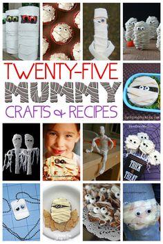25 Mummy Crafts & Recipes Kids Will Love