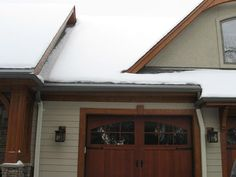 System working well to keep snow from building up at eave area of roof. Exactly what you need to prevent ice dams Ice Dams, Shovel, New England, Wisconsin, Photo Galleries, Snow, Tools, Gallery, Building