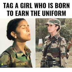 Tag them Me Joining The Military, Military Love, Army Love, Army Women Quotes, Indian Army Quotes, Strong Mind Quotes, Indian Army Special Forces, Indian Army Wallpapers, Soldier Quotes