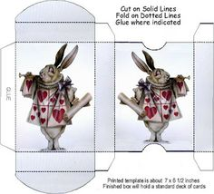 Box Template Playing Card http://thetincats.blogspot.co.uk/search/label/Paper%20Crafts