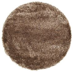 Awesome Berber Style Shaggy   Chocolate Carpet RVD5596 Ø 160 Cm   Buy Your Carpets  At CarpetVista