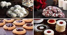 Vianočné recepty na 10 druhov drobného pečiva. Vanilkové, orechové, čokoládové i s džemom - vyberie si každý! Vianočné pečivo tradičné i menej tradičné Muffin, Cooking, Breakfast, Recipes, Food, Kitchen, Morning Coffee, Essen, Muffins