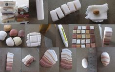Faux agate tutorial. This link leads you to the translated page.