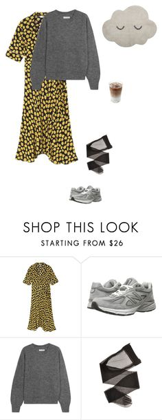 """Untitled #1124"" by andreaellegaard ❤ liked on Polyvore featuring New Balance, Étoile Isabel Marant and Bloomingville"