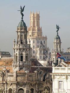 The Rooftops of Downtown Havana, Cuba