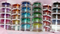 Stackable Glitter Towers.  these are great holiday makeup looks   hobby lobby 40% coupon each week   print on wed!!!!!
