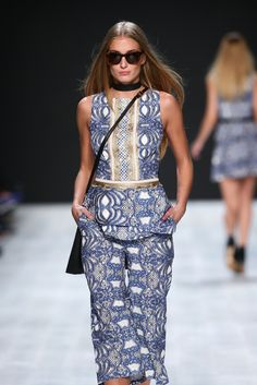 #MBFDZ #LugVonSiga Pattern Skirt, Spring Summer 2015, Peplum Dress, Bright, Style Inspiration, Sunglasses, Skirts, Dresses, Fashion