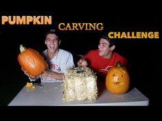 Carving Pumpkins Challenge // Dolan Twins - YouTube