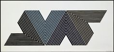 "Frank Stella    Empress of India I, 1974   5-color lithograph   16 1/4"" x 35 3/8"" (41.3 x 89.9 cm)  edition of 100  FS67-157    $4,500 *"
