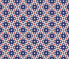 ekko four dot fabric | Designer: holli_zollinger | Purchase this on Spoonflower or create your own custom fabric.