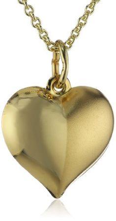Bild Xaana Damen-Anhänger Herz matt-glanz 333…