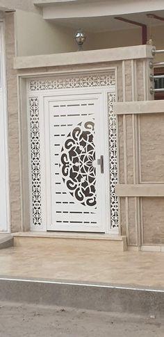 Front Gate Design, Door Gate Design, Grill Door Design, Metal Doors, Front Gates, Interior Sketch, Laser Cutting, Garage Doors, Architecture