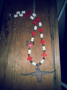 Catherine Creek Cowgirl Jewelry Longhorn Necklace