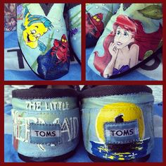 $30.00 for custom painted TOMS, send her your TOMS & she sends them to you when the paint job is done