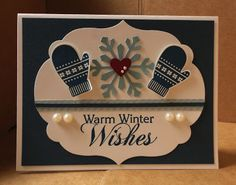 Stampin' & Scrappin' with Stasia: Love, Love this Holiday Card