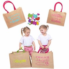 Auf der Suche nach einem Muttertagsgeschenk? Gerne gestalten wir auch dein personalisiertes Muttertagsgeschenk. Einkaufstasche, Jutetasche Paper Shopping Bag, Burlap, Reusable Tote Bags, Grandma And Grandpa, Personalized Gifts, Cuddling, Searching, Clearance Toys, Hessian Fabric