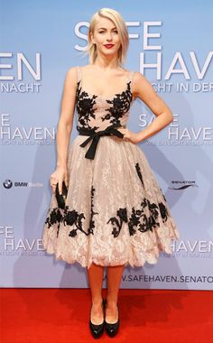Love this dress on Julianne Hough