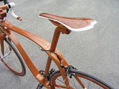 Sanomagic Wooden Bicycle  What is this stuff, wooden bikes? Buncha sillyness!