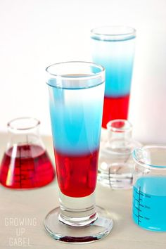 Red, White, and Blue Shooters | Community Post: 15 Delicious Cocktails To Cool You Down This Summer