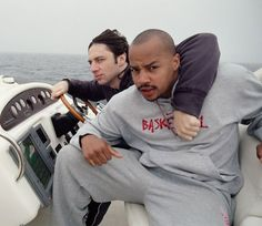 They are the BEST best friends in hollyweird. | Donald Faison And Zach Braff Are The Ultimate Best Friends