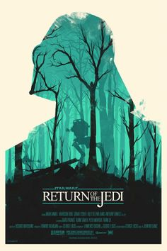 Olly Moss created these awesome Star Wars posters that feature Darth Vader, and Boba Fett! You can checkout more info on Olly Moss' Star Wars movie. Olly Moss, Movie Posters Minimalist, Movie Posters Design, Star Wars Poster, Poster Design, Mondo Posters, Star Wars Trilogy Poster