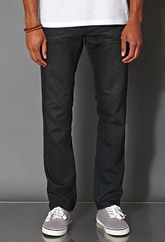 Slim Fit- Faded Dark Wash | 21 MEN - 2021839460