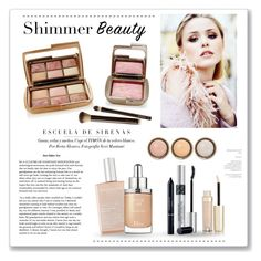 """""""Shimmer Beauty"""" by m-aric ❤ liked on Polyvore featuring beauty, Hourglass Cosmetics, By Terry, African Botanics, Christian Dior, Dior, hourglass and shimmerbeauty"""