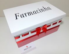 Farmacinha MDF decorada