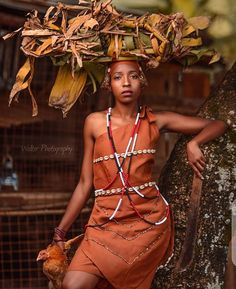 African Attire, African Dress, Traditional Wedding Decor, African Fashion, Creative Design, Wedding Decorations, Culture, Clothing, How To Wear