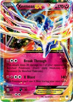 Amazon.com: Pokemon Spring 2014 Collectors Tin Promo Card Xerneas ...