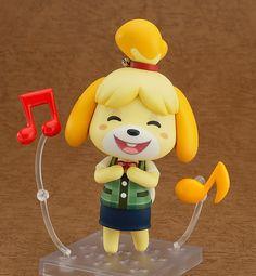 Amazon.com: Good Smile Animal Crossing: New Leaf: Shizue Nendoroid Action Figure: Toys & Games