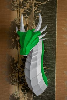 Cool Paper Crafts, Fun Crafts, Diy And Crafts, Arts And Crafts, Origami Paper Art, 3d Paper, Paper Toys, Isometric Paper, 3d Printing Diy