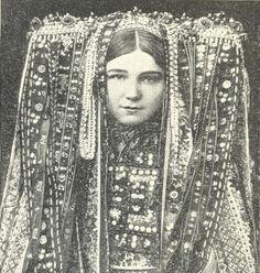 "reblololo: (via lemmy_caution) headdress Czech woman, scanned from ""Peoples of the world in pictures"" We Are The World, People Around The World, Folklore, Portraits, Folk Costume, Costumes, World Best Photos, World Cultures, Headgear"