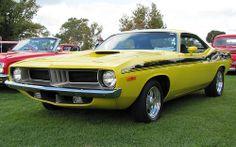 73 Plymouth 'Cuda