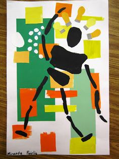 Matisse-moving collages