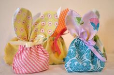 Gung Ho Grandma ... go to gunghograndma.com for ideas for grandmas! Love these bunny-ear treat bags that are easy to see!