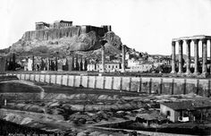 Greece Pictures, Old Pictures, Old Photos, Parthenon, Acropolis, Athens Greece, The Neighbourhood, To Go, The Past