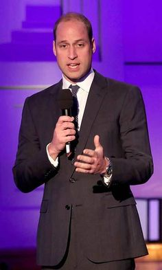 Prince William gave a speech at a screening of his new <em>Mind Over Marathon</em> documentary. Photo: © Getty Images