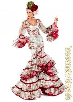 575f98635feb Outfits For Spain, Folk Costume, Gypsy, Robes, Flamenco Dresses, Ruffles,