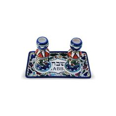 11x20 Centimeter Armenian Shabbat Candlesticks with Tray ** You can get additional details at the image link.Note:It is affiliate link to Amazon.